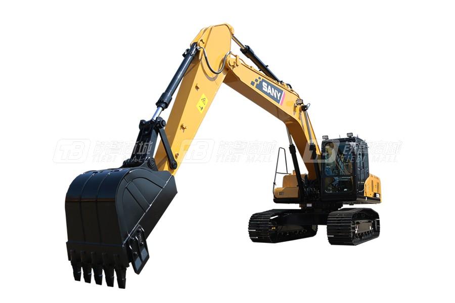 三一SY205C中型挖掘机外观图1