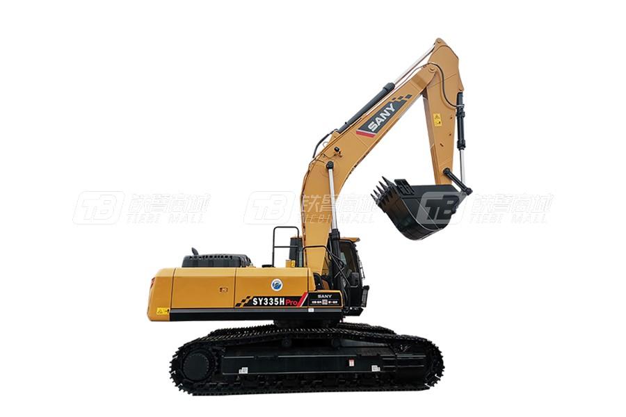 三一SY335H中型挖掘机外观图1