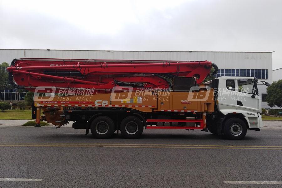 三一SYM5340THB 490C-8泵车
