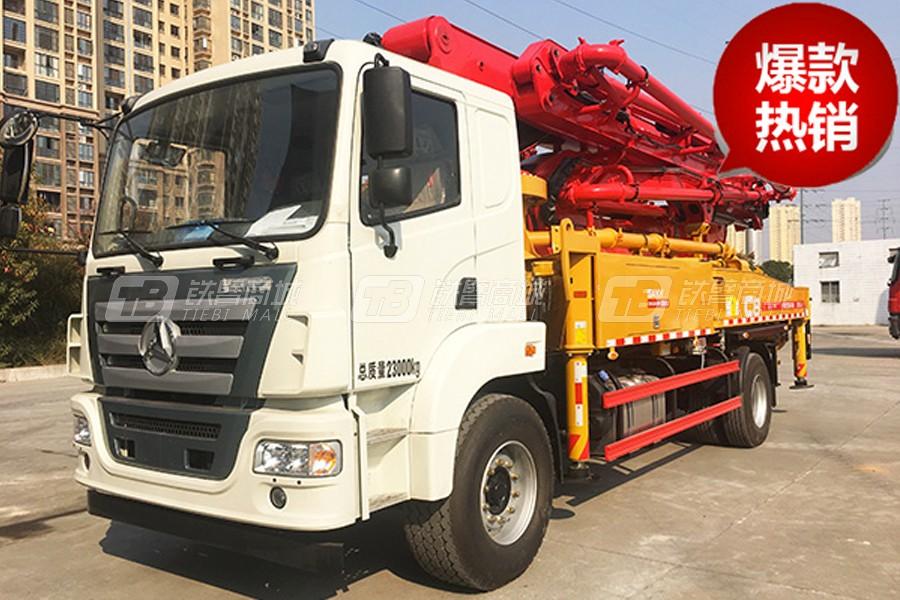 三一SYM5230THB 370C-8A混凝土泵车外观图0