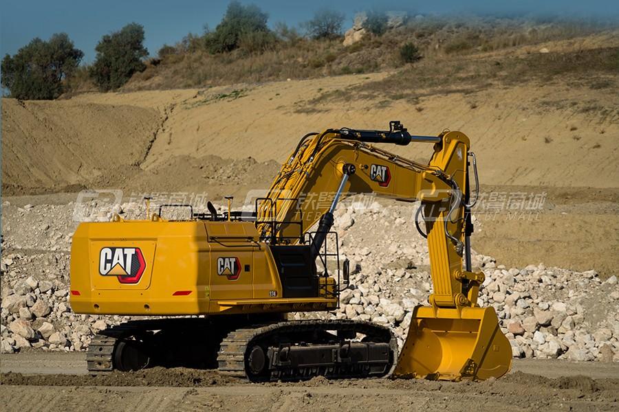 卡特彼勒374液压挖掘机外观图2