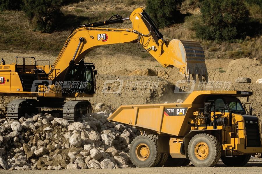卡特彼勒374液压挖掘机外观图5