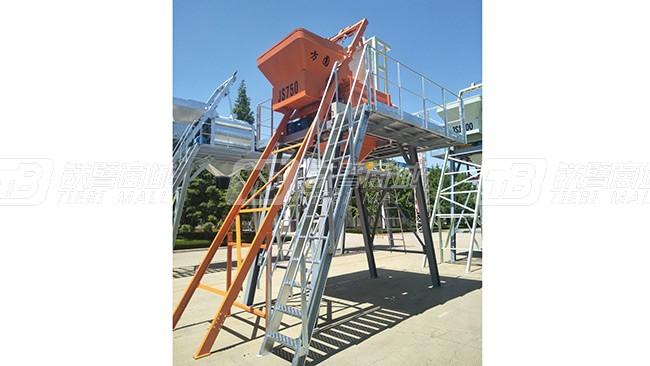 方圆集团JS750-2.7米混凝土搅拌机外观图1