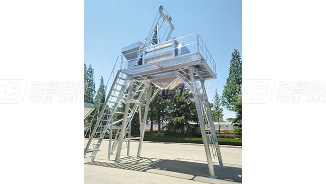 方圆集团JS1000-2.7米系列混凝土搅拌机外观图1