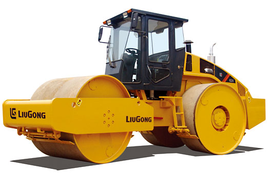 柳工CLG624三轮压路机