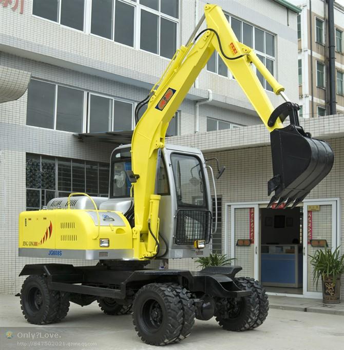 劲工JG608S轮式挖掘机