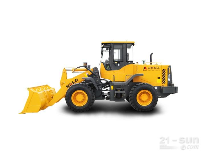 山东临工L936轮式装载机外观图3