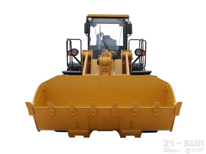 山工SEM660D轮式装载机外观图1