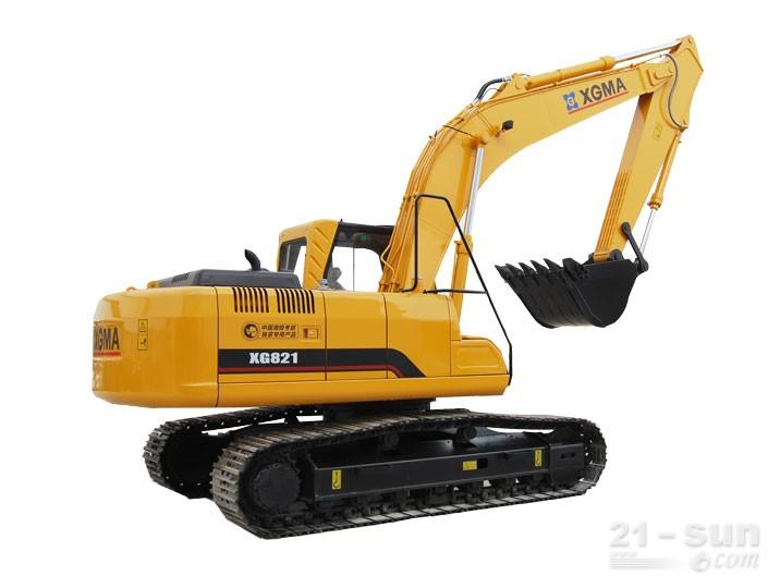 厦工XG821挖掘机外观图1