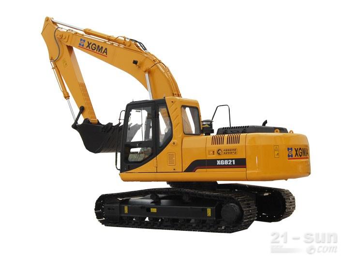 厦工XG821挖掘机外观图3