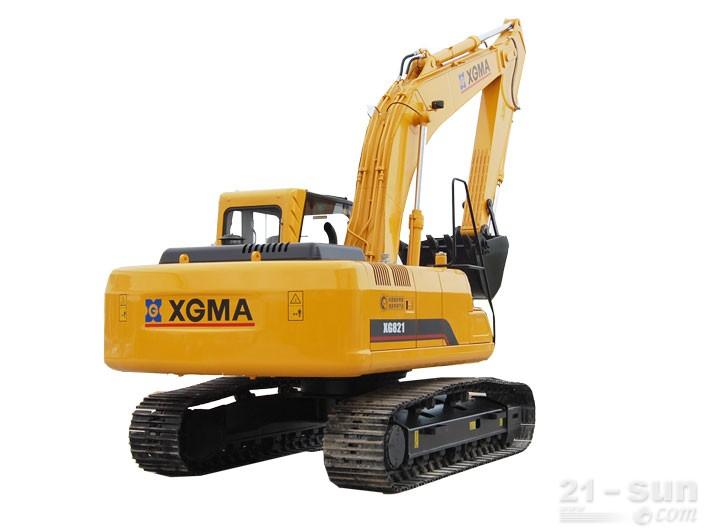 厦工XG821挖掘机外观图5