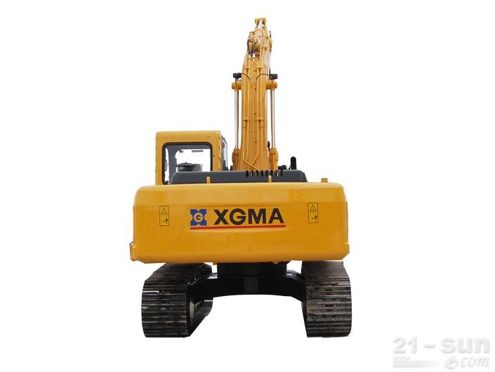 厦工XG821挖掘机外观图4
