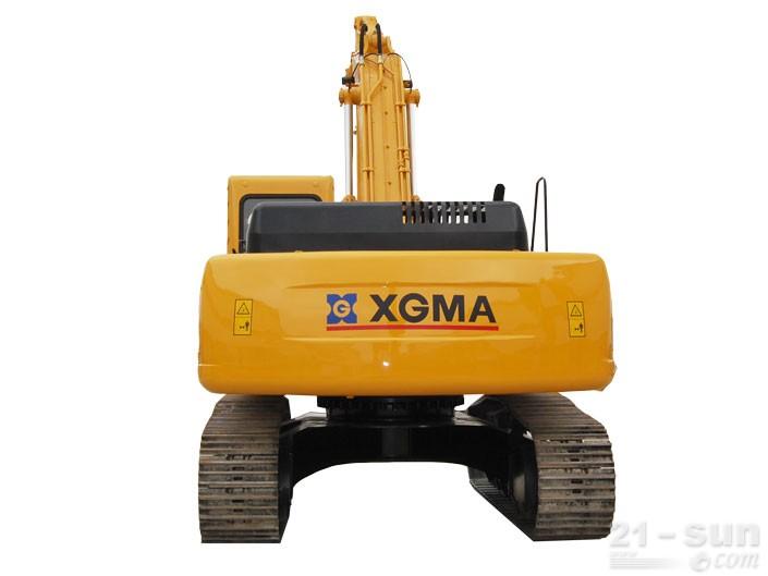 厦工XG833挖掘机外观图3