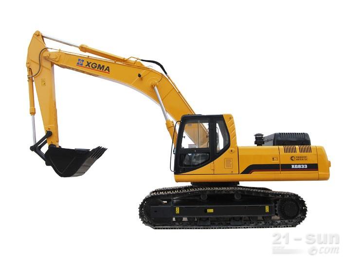 厦工XG833挖掘机外观图4