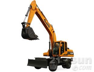 詹阳动力JYL210E轮式挖掘机