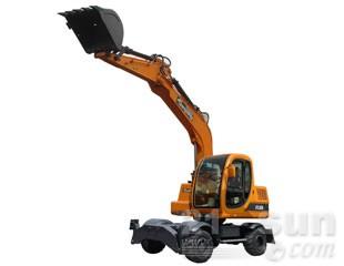 詹阳动力JYL608轮式挖掘机