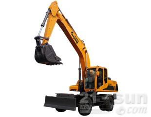 詹阳动力JYL615轮式挖掘机