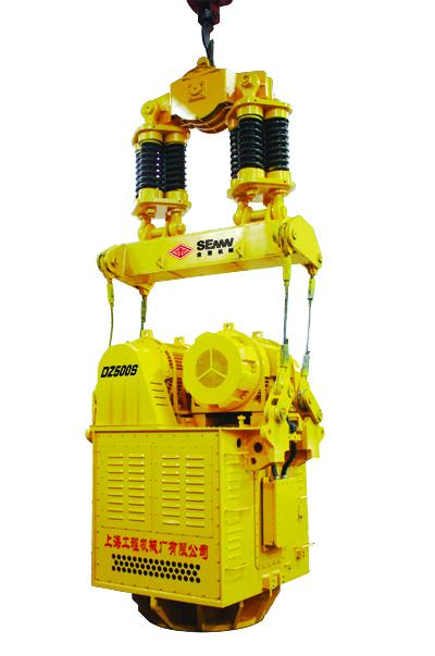 上工机械DZ系列电驱振动打桩锤