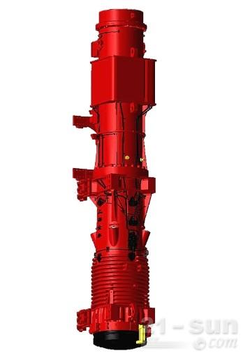 上工机械D128/D138/D160/D180筒式柴油打桩锤