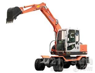 新源机械65W-8轮式挖掘机