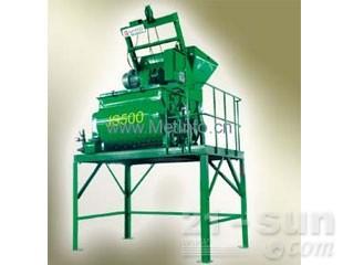 北山机械JS500双卧轴强制式混凝土搅拌机图片