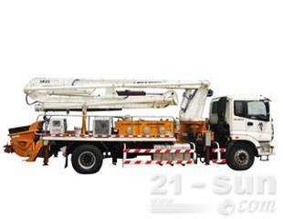 雷萨重机BJ5183THB-1混凝土泵车图片