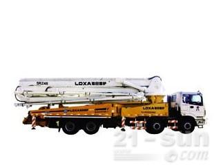雷萨重机BJ5410THB-1混凝土泵车图片