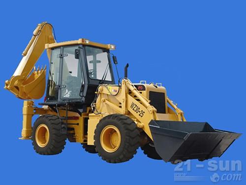 山猛机械WZ30-25挖掘装载机