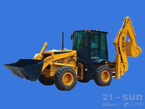 山东威猛WZY30-25挖掘装载机
