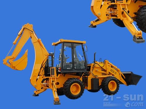山东威猛WZ30-25挖掘装载机