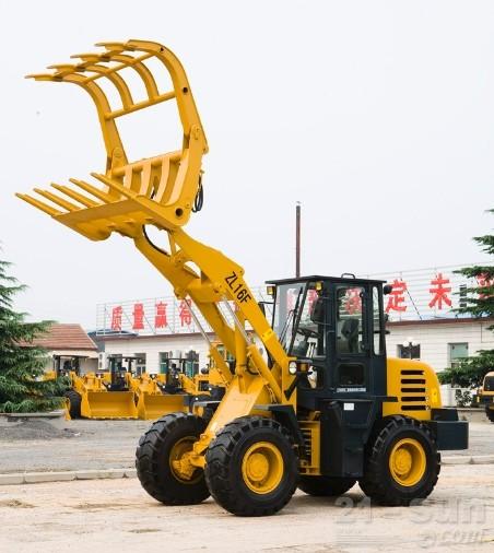 山猛机械ZL16F抓草机