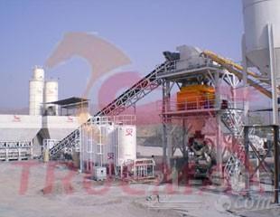 信瑞重工HZS60固定式混凝土搅拌站