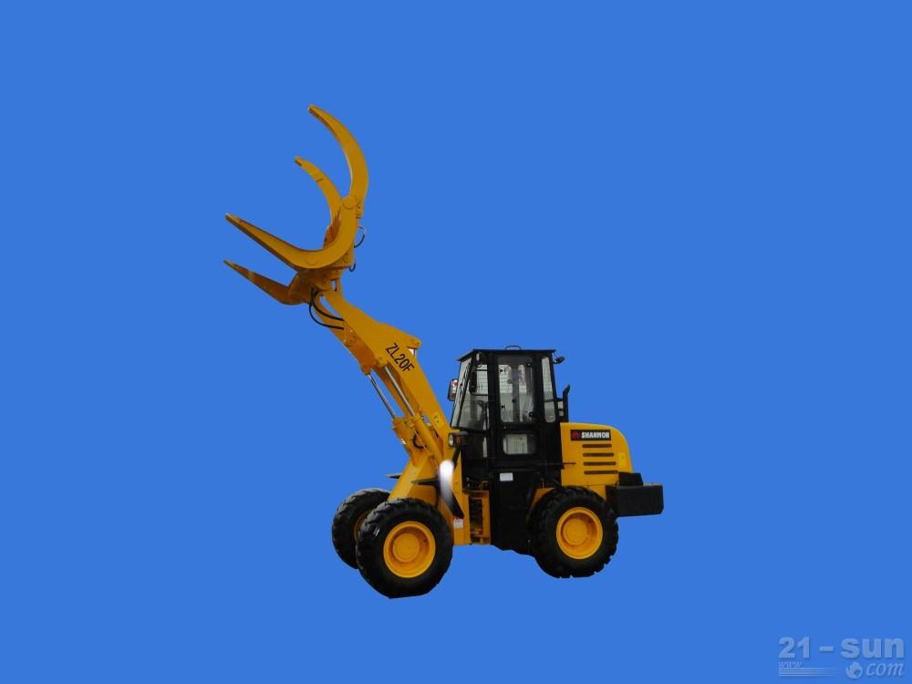 山东威猛ZL20F抓木机
