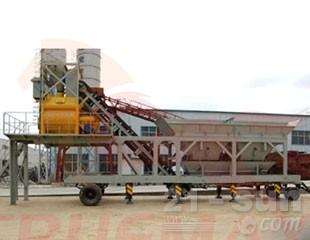 信瑞重工HZS50移动式混凝土搅拌站