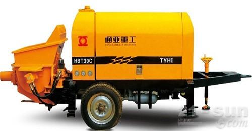 通亚汽车HBT-30C-0808-37S车载泵