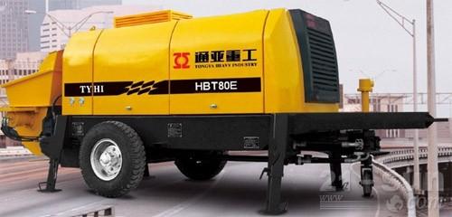 通亚汽车HBT80C-1816-174D拖泵