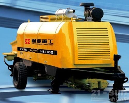 通亚汽车HBT80E-1613-145D拖泵