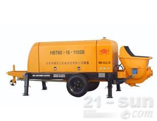 华强京工HBT60-16-110SB输送泵(电动)