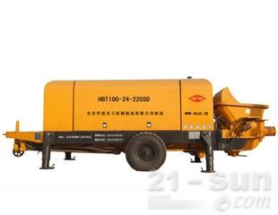 华强京工HBT100.24.220SD输送泵