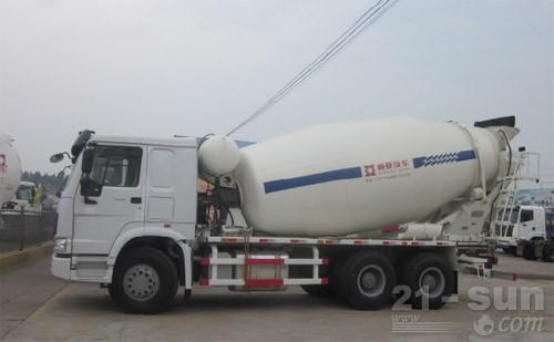 通亚汽车CTY5251GJBCA混凝土搅拌运输车图片