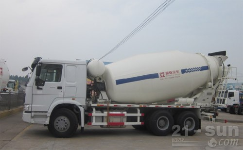 通亚汽车CTY5250GJBDFL混凝土搅拌运输车图片