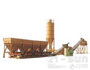 华山WBS稳定土厂拌设备图片