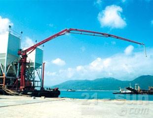 建研机械HGY24/28船载式混凝土布料杆