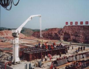 建研机械HGY基础固定式混凝土布料杆