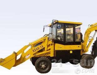 全工机械WZ25-20隧道专用挖掘装载机