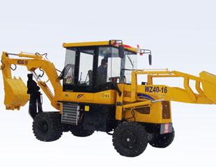 全工机械WZ40-16挖掘装载机