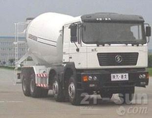 陕汽F2000 8×4混凝土搅拌运输车