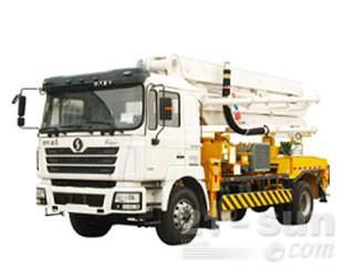 陕汽6×4混凝土泵车