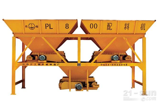 银锚PLD800混凝土配料机