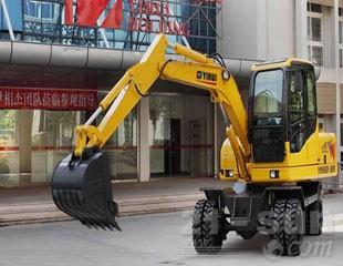 忆辉YH80-9B轮式挖掘机
